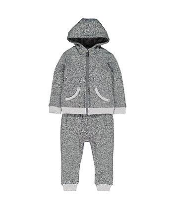 Grey Scuba Jog Set