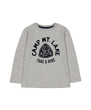Grey Take A Hike T-Shirt