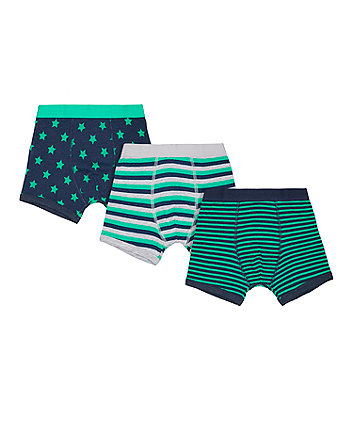 Star And Stripe Trunks - 3 Pack