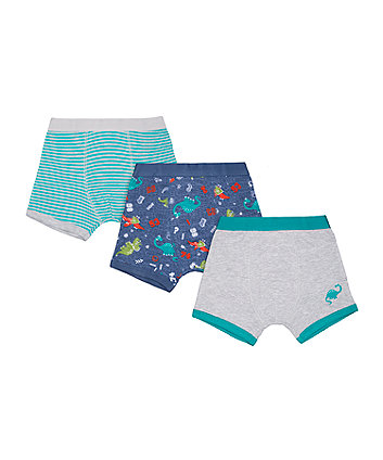 Dinosaur Trunks - 3 Pack