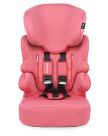 Mothercare Malmo Highback Booster Car Seat - Pink