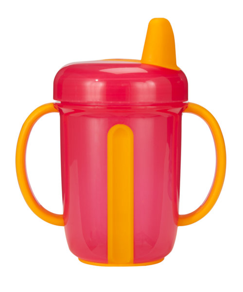 Mothercare Tiny Dining Non-Spill Handled Cup 260ml - Red