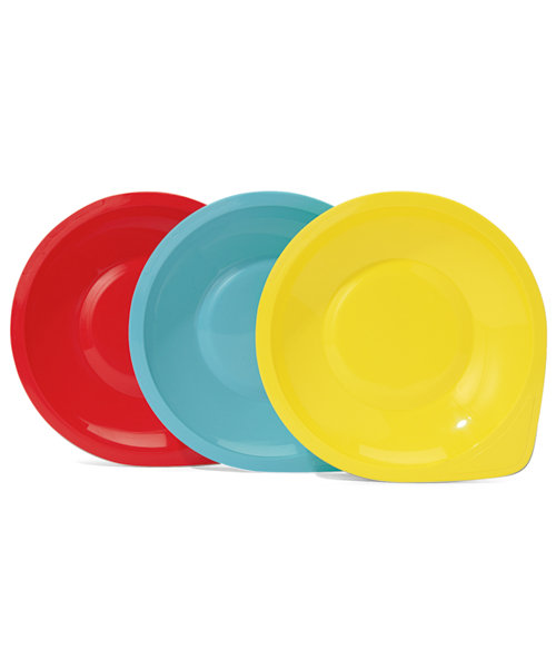 Mothercare Essential Plates - 3 Pack