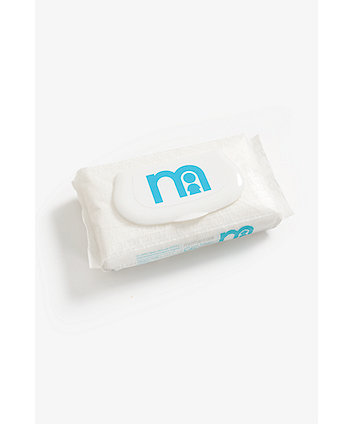 Mothercare All We Know Baby Nappy Sacks - White 100 Pack