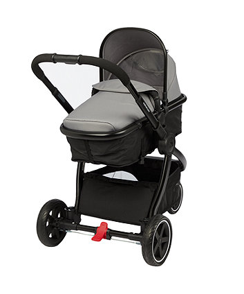 *Mothercare 3 Wheel Journey Black Travel System - Charcoal