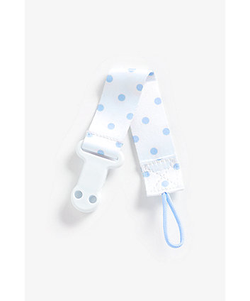 Mothercare Soother Holder - Blue