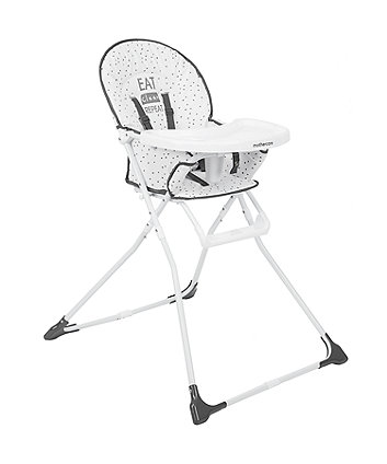 *Mothercare Highchair - Eat Clean Repeat