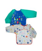 Mothercare Space Dreamer Coverall Bibs - 2 Pack