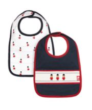 Mothercare Heritage Guardsman Bibs - 2 Pack