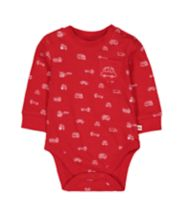 Mothercare Red Car Bodysuit