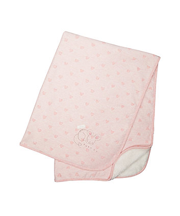 Mothercare My First Pink Mouse Shawl
