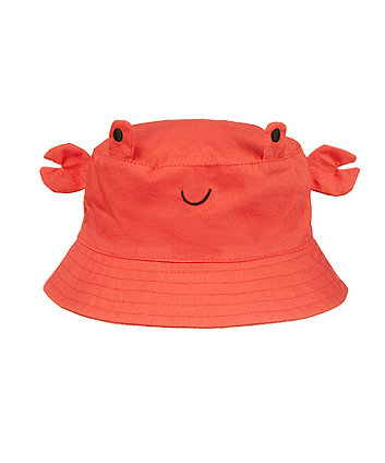 Mothercare Red Woven Crab Hat