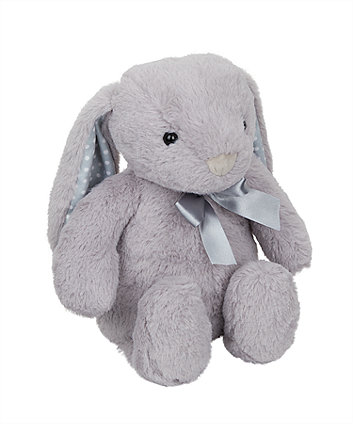 Mothercare Grey Cuddly Bunny