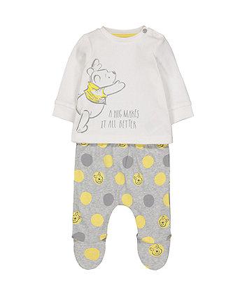 Mothercare Disney Baby Winnie The Pooh Pyjamas