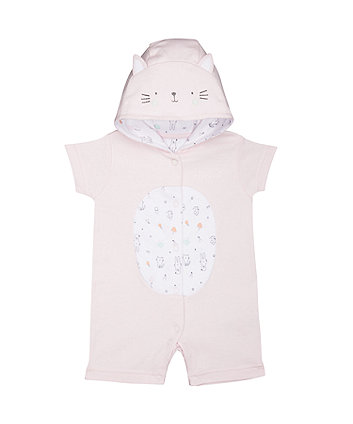 Mothercare Happy Cat Romper