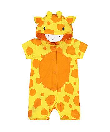 Giraffe Novelty Romper