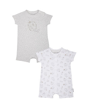 Love You Always Rompers - 2 Pack