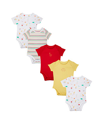 Brights Bodysuits - 5 Pack