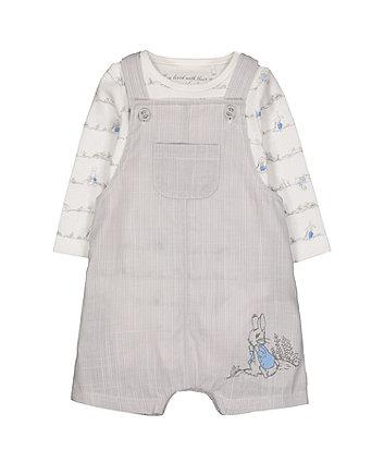 Mothercare Peter Rabbit Bibshort Set