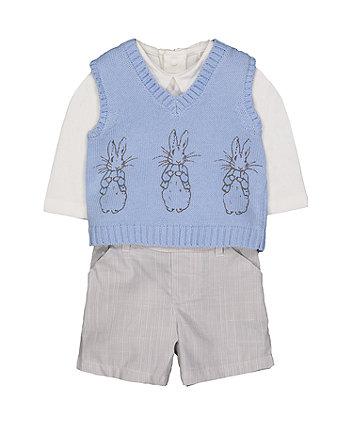 Mothercare Peter Rabbit 3-Piece Set