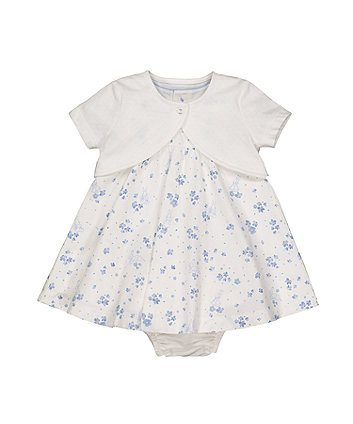 Mothercare Peter Rabbit Dress And Cardigan