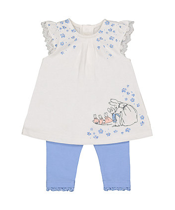 Mothercare Peter Rabbit Dress And Leggings Set