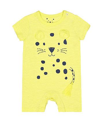 Jungle Leopard Romper