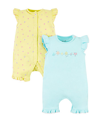 Fruits Rompers - 2 Pack