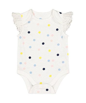 Mothercare Multicoloured Spot Bodysuit