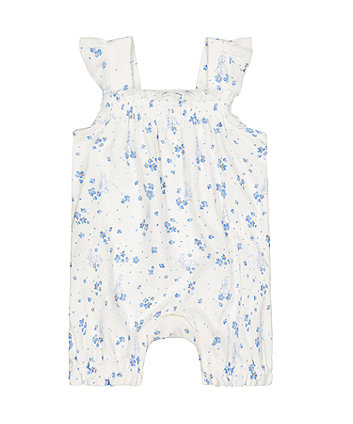 Mothercare Peter Rabbit Floral Romper