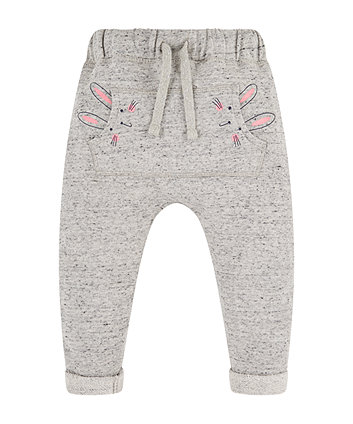 Mothercare Grey Bunny Joggers