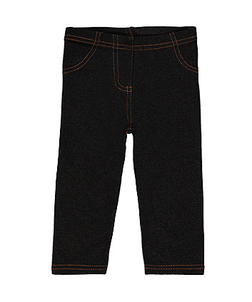 Mothercare Black Denim Jegging