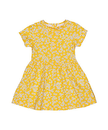 Mothercare Yellow Daisy Dress