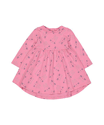 Mothercare Pink Bunny Dress