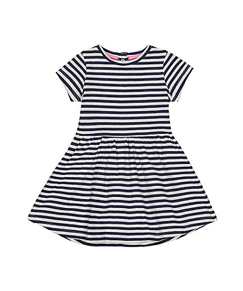 Mothercare Navy Striped Dress