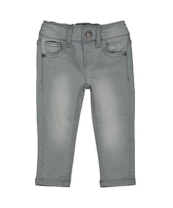 Mothercare Grey-Wash Skinny Jeans