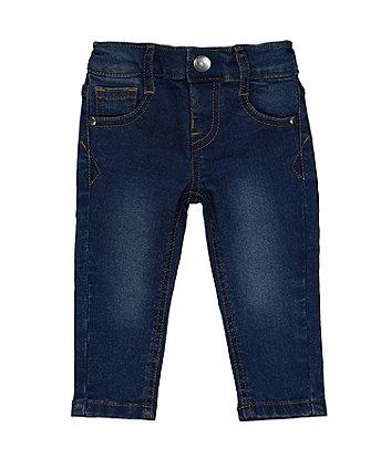 Dark-Wash Skinny Jeans
