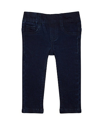 Dark-Wash Jeggings