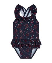 Navy Heart Swimsuit