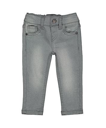 Grey-Wash Skinny Jeans