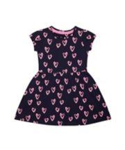 Navy Heart Dress