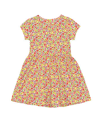 Mothercare Ditsy Floral Waisted Dress