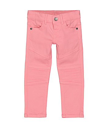 Mothercare Pink Biker Trousers