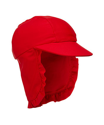 Red Sun Protection Keppi Hat