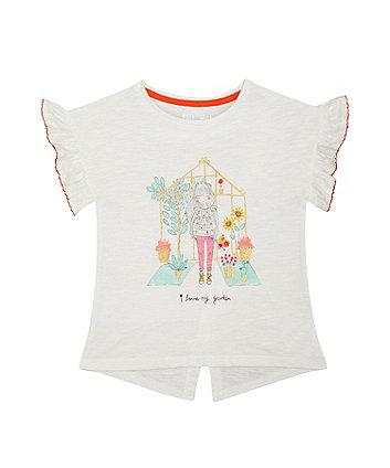 I Love My Garden Glitter T-Shirt