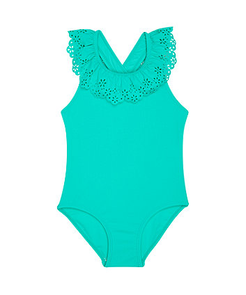 Mothercare Green Swimsuit
