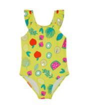 Yellow Fruit Swimsuit