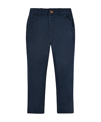 Navy Chino Trousers