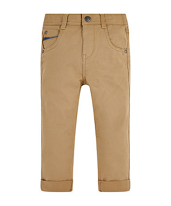Mothercare Stone Twill Trousers