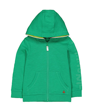 Mothercare Green Hooded Top